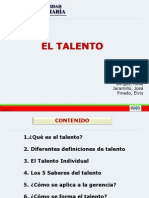 Presentación Trabajo Talento