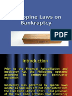History of Laws on Insolvency and FRIA
