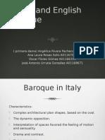 Italian and English Baroque