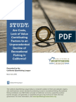 Are Costs, Lack of Value Contributing Factors to an Unprecedented Decline of Recreational Fishing in California?
