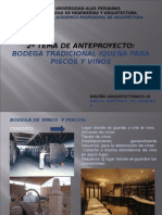 2º Tema de Diseño III-Bodegas