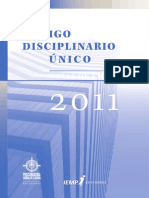 Codigo Disciplinario Unico 2011