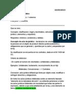 Derecho Civil 16 de Marzo 2015