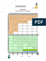Mapa Curricular PT-B en Telecomunicaciones (Conalep)
