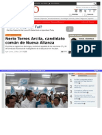 23-03-2015 Nerio Torres Arcila, candidato común de Nueva Alianza