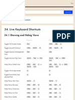 Live Keyboard Shortcuts — Ableton Reference Manual Version 9 | Ableton