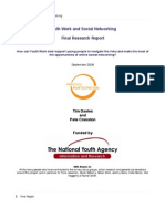 Youth Work and Social Networking - Final Report