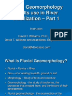Fluvial Geomorphology1