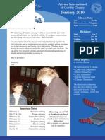 Jan 2010 Newsletter Blog[1]