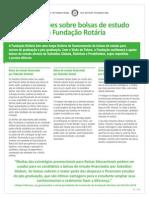 Foundation Scholarships Fact Sheet Pt