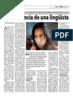 Teresa Ramos en el VP Semanario