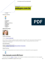 Valor Agregado Usando MS-Project _ Blog MundoPM