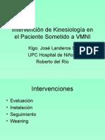 VMNI Intervención de Kinesiología