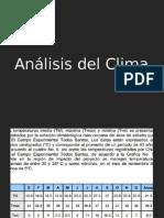 Analisis Del Clima y Del Sitio
