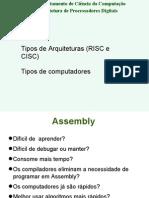 2 - Assembly e Risc Cisc