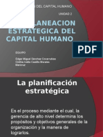 Planeacion Estrategica Del Capital Humano