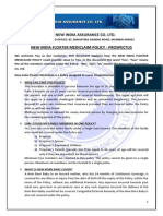 Prospectus New India Floater Medi Claim