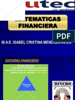 1 Entorno Financiero e Interes Simple