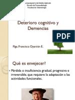 Clase Demencia y Deterioro Cognitivo