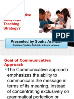 communicative learning strategy