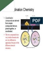 Wk3c- Coord Chem