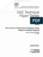 The Control of Semi-Active Dampers Using Relative Control