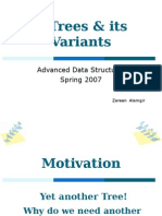 B Trees and its Variants