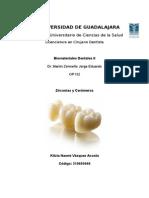 Biomateriales Dentales, Zirconias y Ceromeros