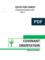 Yfc Covenant Orientation (2010 Edition) 2nd Rev.