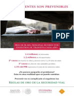 Los Accidentes Son Prevenibles - Reglas_Oro_Automovil