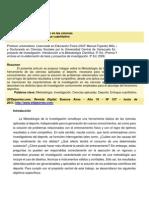 Metodología de La Investigación en Las Ciencias