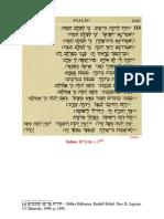 catequese - Cântico de alegria e de vitória -  Salmo 117(118)