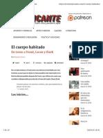 El Cuerpo Habitado_en Torno a Freud Lacan Zizek_Deyanira Torres_RReplicante