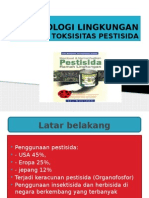 Toksikologi Lingkungan Toksisitas Insektisida Ppt ( Bu Sri Adi )