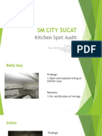 Kitchen Spot Audit