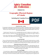 The Many Geographic Regions of Canada