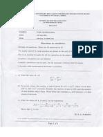 Pure Mathematics Intermediate Past Papers