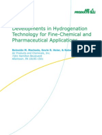 Hydrogen Support Developments in Hydrogenation Technology