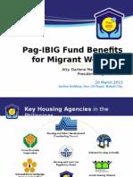 Site Visit Presentation (PAG-IBIG)