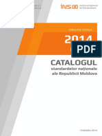 Catalogul Standardelor Nationale