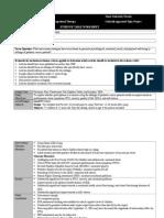 evidence table worksheet