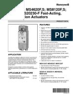 Actuator Honeywell 63-2584