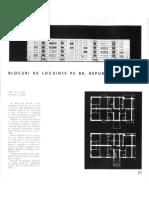 Arhitectura R.P.R. Nr. 3 Pe 1963 (Nr. 82) Pg. 16-17 Blocuri de Locuinte Pe Bd. Republicii - Ploiesti