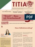Magazin Forum.jus Justitia SoSe15