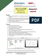 ProComSol DevCom2000 Data Sheet