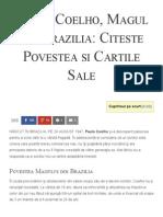 Paulo Coelho, Magul din Brazilia_ Citeste Povestea si Cartile Sale - Florin Roșoga.pdf