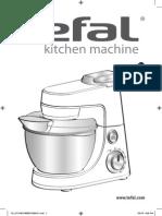 Tefal Kitchen Machine users manual