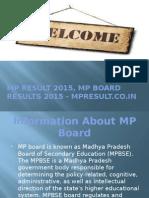 MP RESULT 2015, MP BOARD RESULTS 2015, MP EXAM 2015 RESULTS