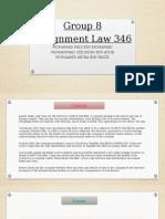 Law 346 Present