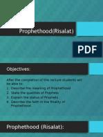 Prophethood (Risalat)